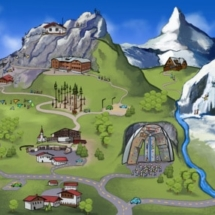 Panorama Scribble Bergwelt/WWP