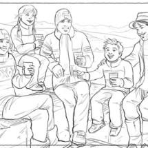 Storyboard Rauch Ski-Alpin b/w