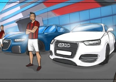 Storyboard Audi / Real Madrid