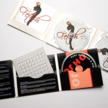 Product Artwork CD-Cover und Inlay