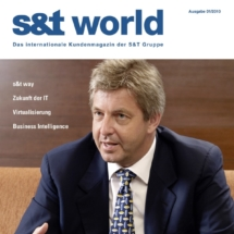 Kundenmagazin s&t world (pg - the corporate publishing group)