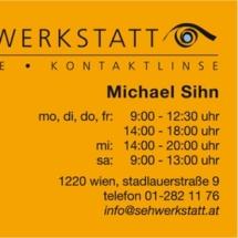 Visitenkarte Sehwerkstatt