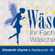 Visitenkarte Wäschefee (E. Uhyrek)