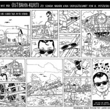 Comic Ostbahn-Kurti (LP/CD-Beilage)